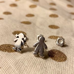 Tous Sweet Dolls earrings sterling silver